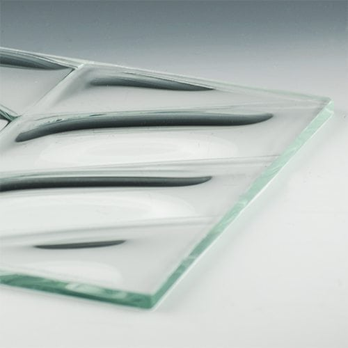 Convex V Glass flat