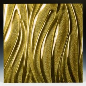 Gemstone Gold Glass front
