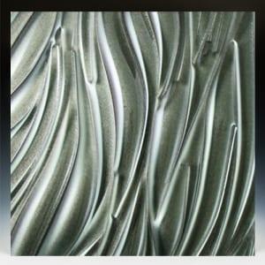 Gemstone Gunmetal Glass