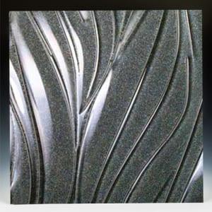 Gemstone Silver Glass
