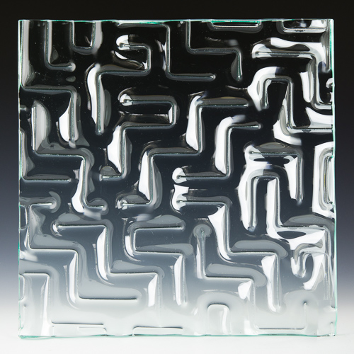 Maze Glass front