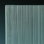 Micro Fluted Cast Glass corner