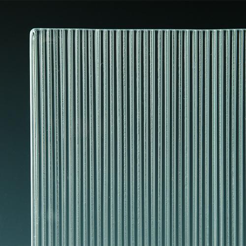Micro Fluted Cast Glass corner