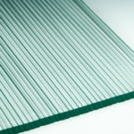 Micro Fluted Architectural Cast Glass