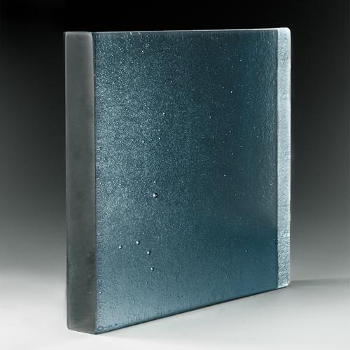 Molten Glass Aqua Blue