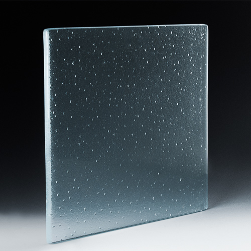 Particle Textured Glass angle