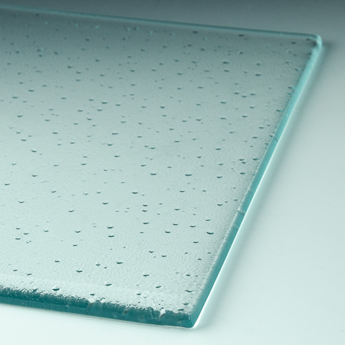 Particle Textured Glass flat