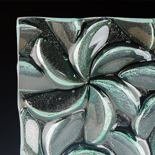Pinwheel Textured Glass 3