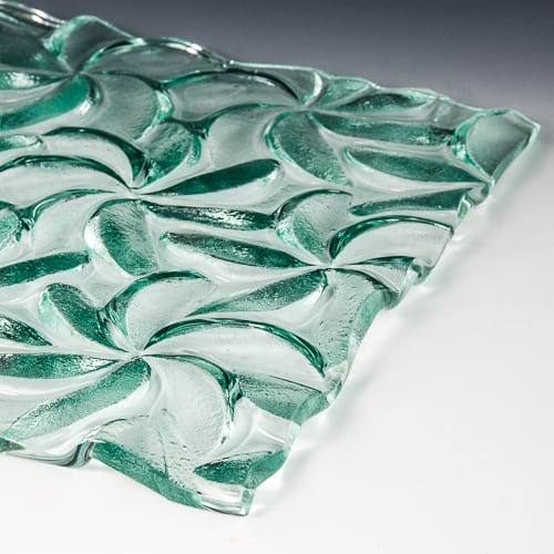 Pinwheel Textured Glass 4