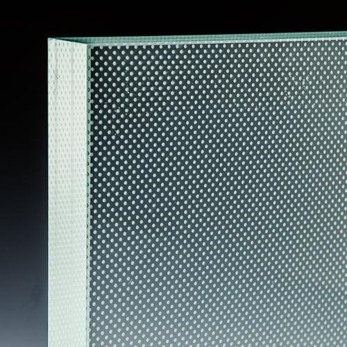 Pixel Clear Glass Treads 3