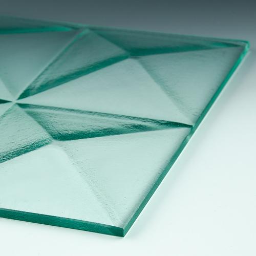 Pyramid Clear Glass