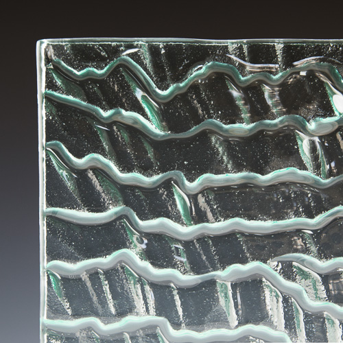 Range Textured Glass 3 Corner