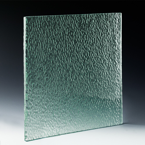 Trickle Textured Glass angle