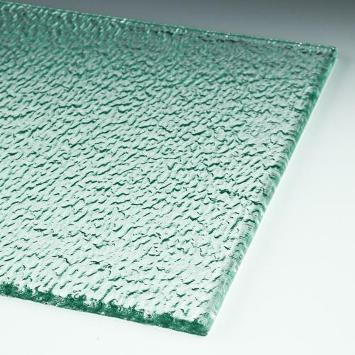 Trickle Textured Glass flat