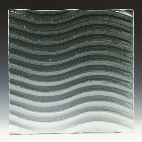 Wave Textured Glass Image 2