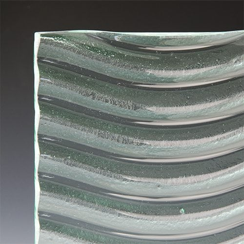 Wave Textured Glass Image 3