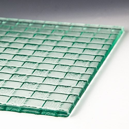 Weave Textured Glass 4
