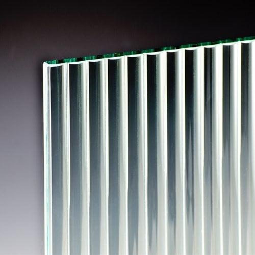 Channel Glass corner