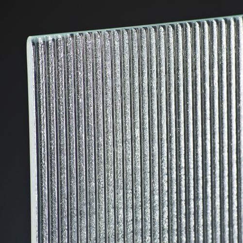 sawtooth micro glass corner
