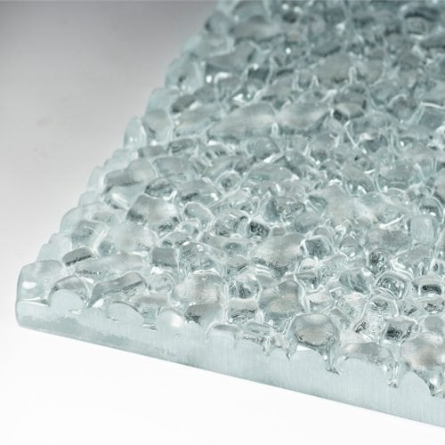 stones glass clear flat