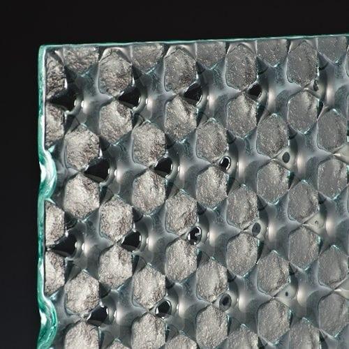 symmetry cluster glass corner