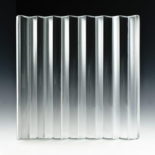 veer satin glass front