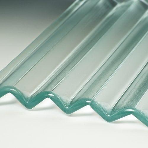 veer satin glass flat