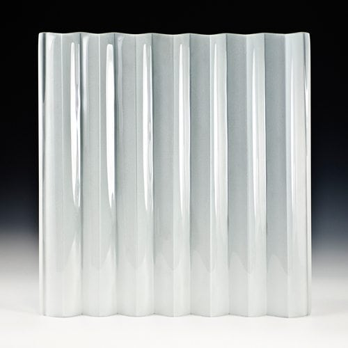 veer satin frosted glass front