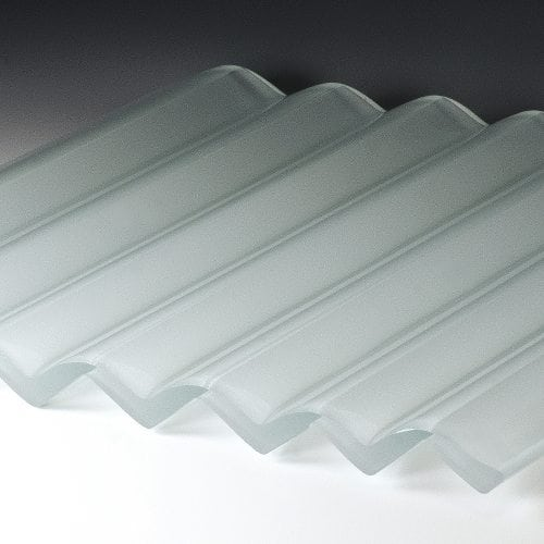 veer satin frosted glass flat