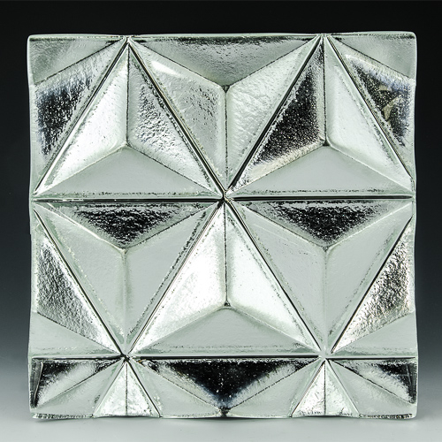 Convex Pinnacle Silvered Glass Example