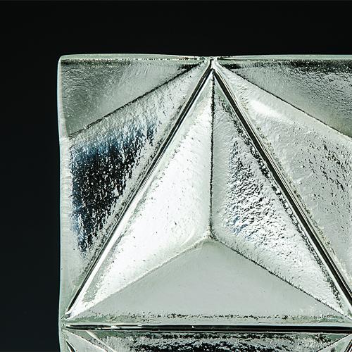 Convex Pinnacle Silvered Glass 3