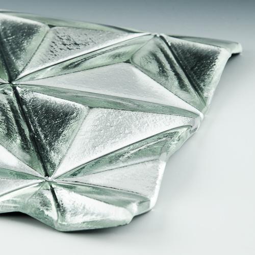 Convex Pinnacle Silvered Glass 4