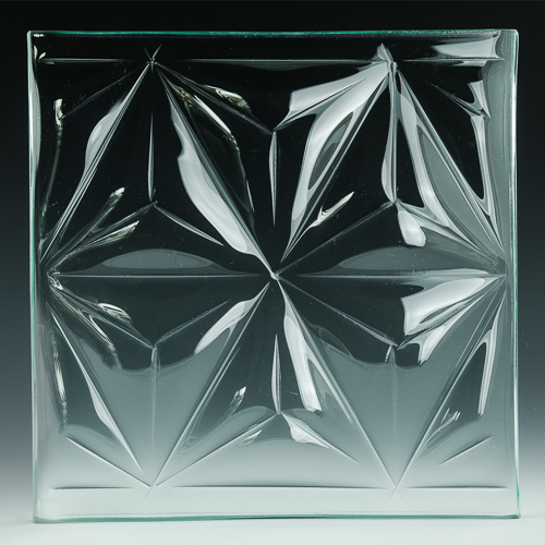 Convex Pinnacle Textured Glass pics