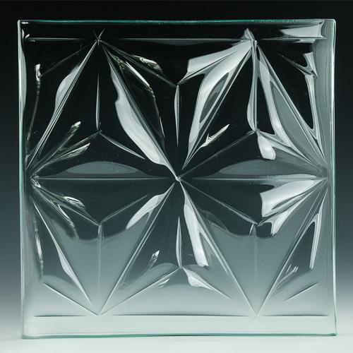 Convex Pinnacle Textured Glass pics