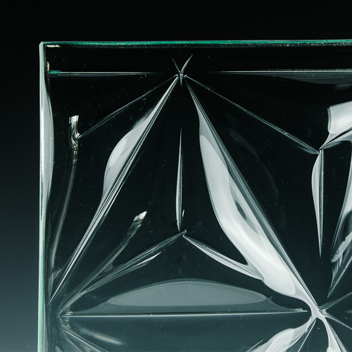 Convex Pinnacle Textured Glass 3