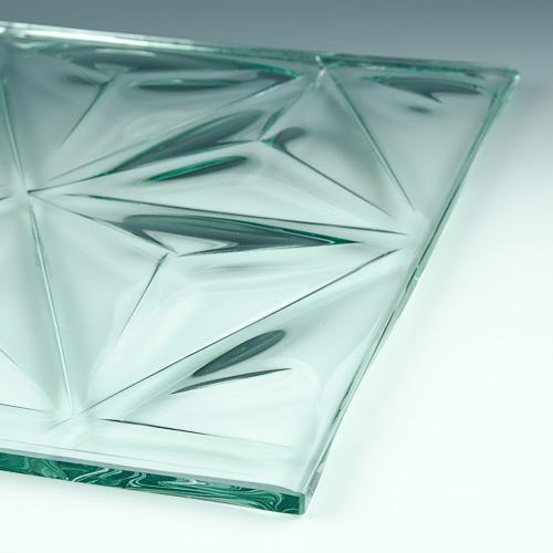 Convex Pinnacle Textured Glass 4