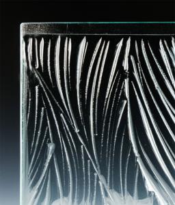 Flat Margins for Deep Glass Textures