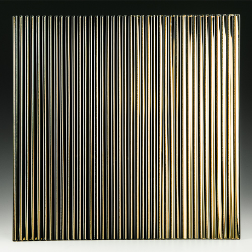 Fluted Bronze Silvered 2