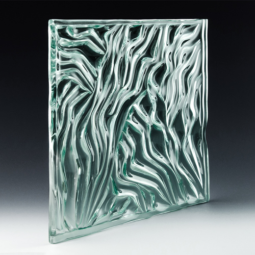 Grooves Architectural Cast Glass angle 2