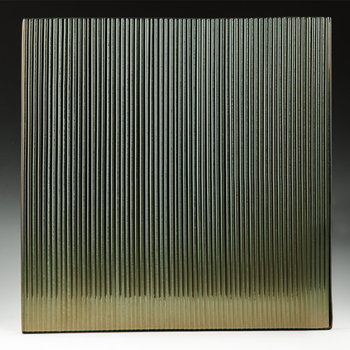 Architectural Glass Micro Fluted Bronze