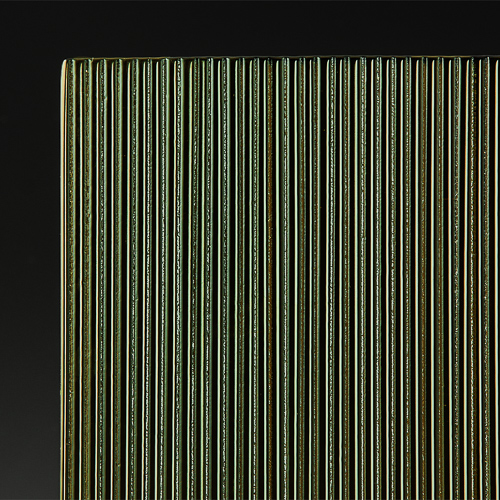 Architectural Micro Fluted Bronze Glass