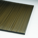 Micro Fluted Bronze Flat View
