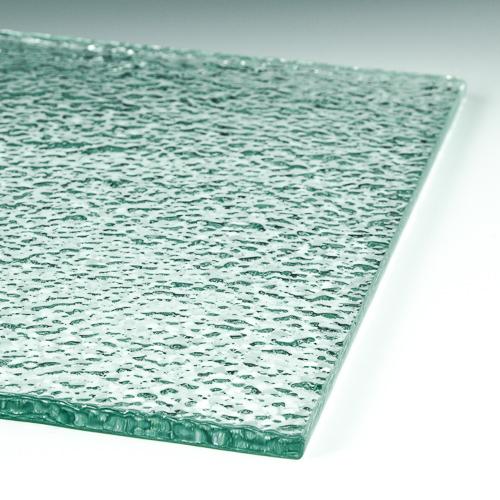 Crush Textured Glass Flat