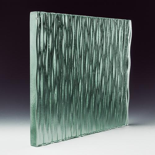 Stax Weavz Clear Textured Glass corner 1