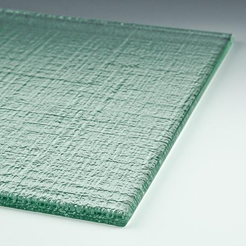 Linen Low Iron Textured Glass 4