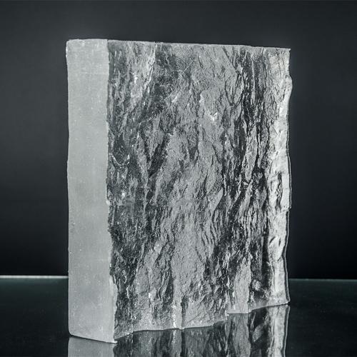 Crystalline Granit Textured Glass