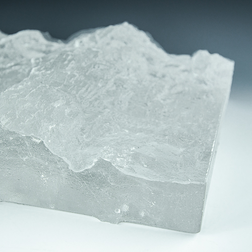 Crystalline Granite Glass Example 2
