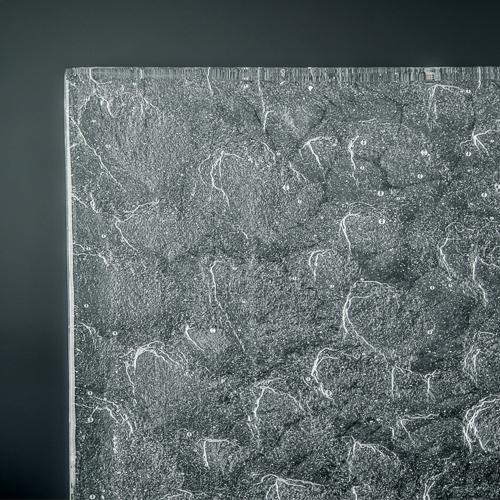Crystalline Rocky Mountain Glass Corner