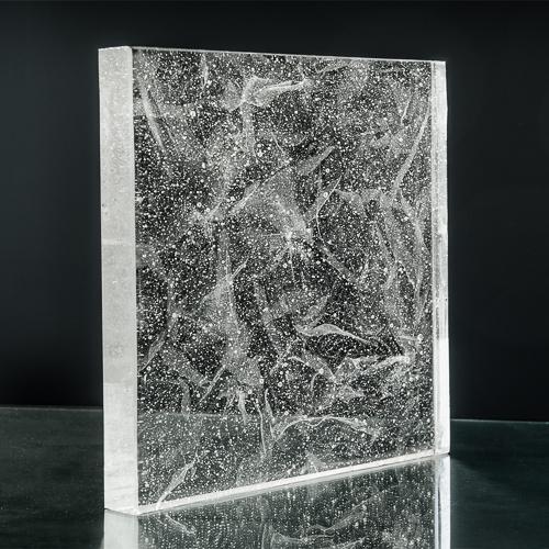 Crystalline Silk Glass
