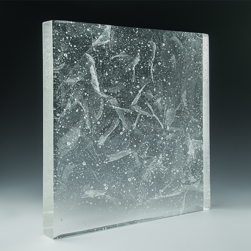 Crystalline Silk Glass Angle